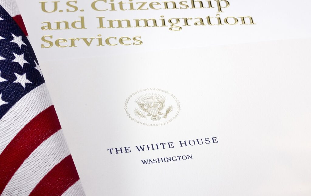 Biden policy document that affects USCIS processing times