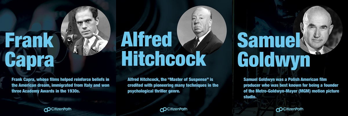 Immigrant artistic contributor: Alfred Hitchcock, the