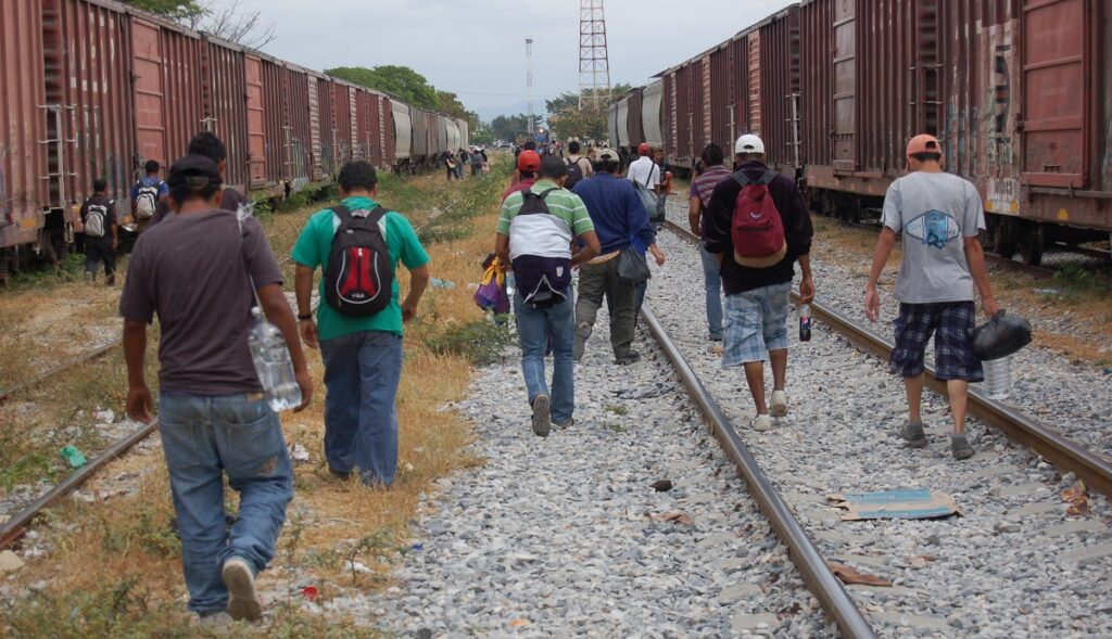 South Americans march toward asylum process in the United States