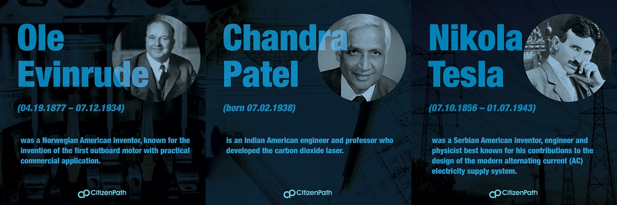 Immigrant STEM innovator: Chandra Kumar Naranbhai Patel is an Indian American engineer and professor who developed the carbon dioxide laser, a technology which is now widely used in industry for cutting and welding, as a laser scalpel in surgery, and in laser skin resurfacing.