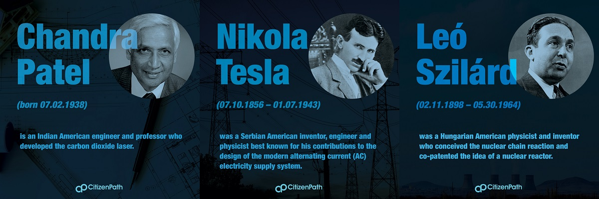 Immigrant STEM innovator: Nikola Tesla was a Serbian American inventor, engineer and physicist best known for his contributions to the design of the modern alternating current (AC) electricity supply system.