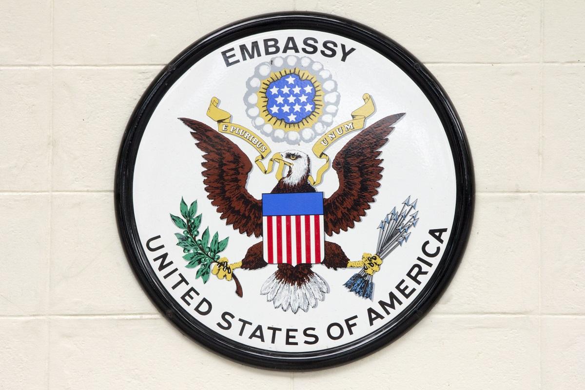 U.S. embassy emblem