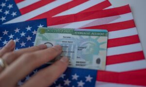 Filling out the green card renewal application