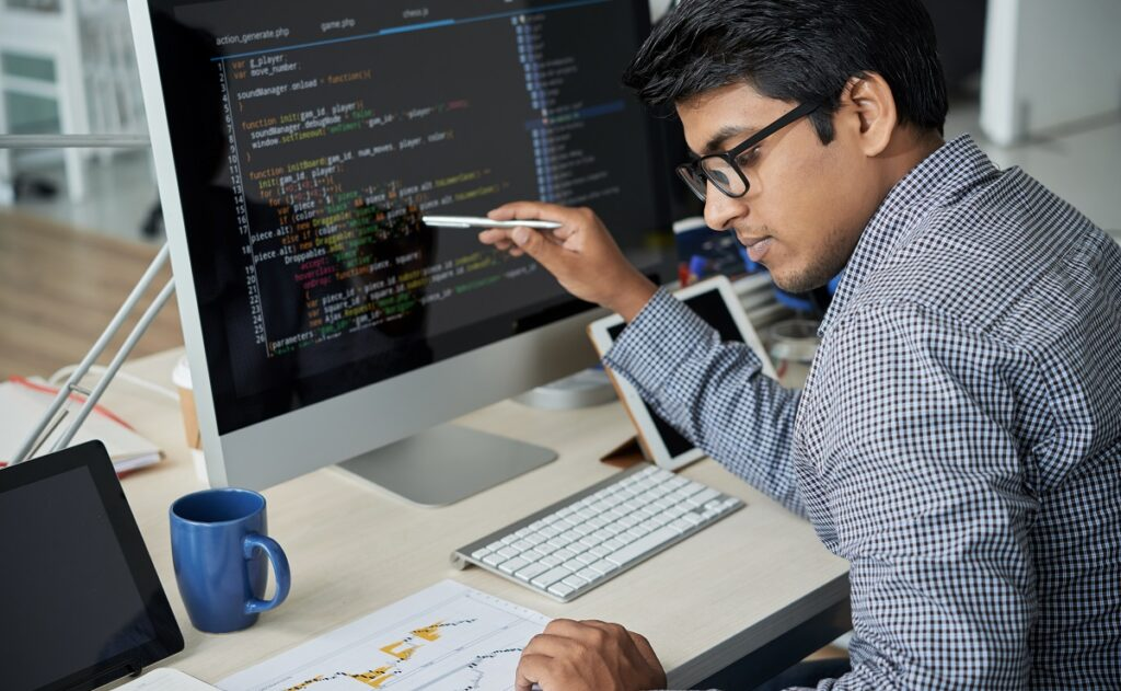 Indian national who found skilled work through a job search